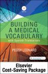 Medical Terminology Online with Elsevier Adaptive Learning for Building a Medical Vocabulary (Access Card and Textbook Package)